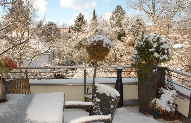Votre balcon en hiver