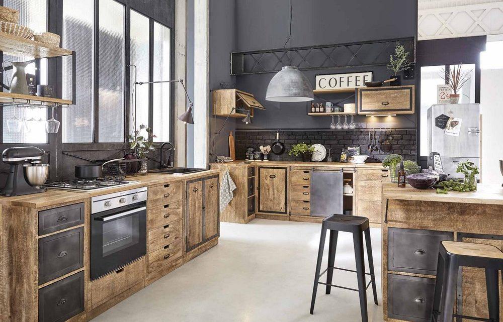 Le style industriel à la cuisine